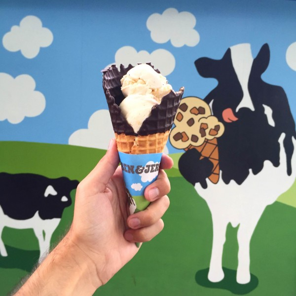 Ben and Jerry's Factory Tour in Vermont