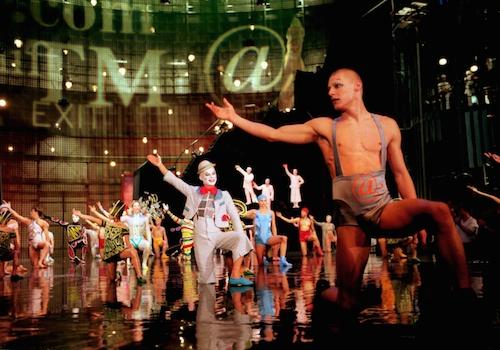 La Nouba by Cirque du Soleil is big on artistry. Credit Walt Disney World and Cirque du Soleil.