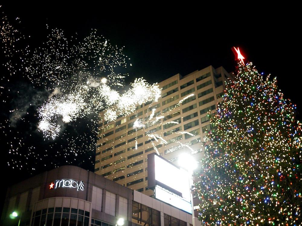 Cincinnati's Christmas tree