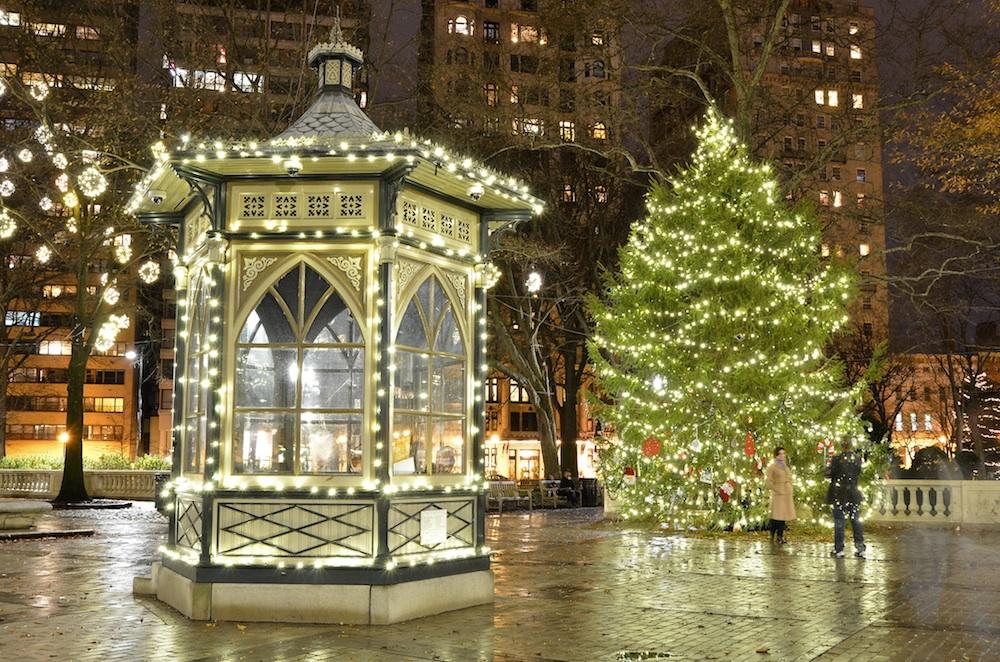 Rittenhouse Square Christmas tree