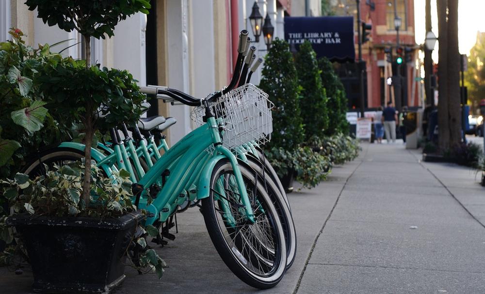 Bikes in Charleston