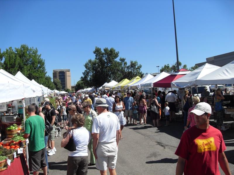 Denver farmers' market