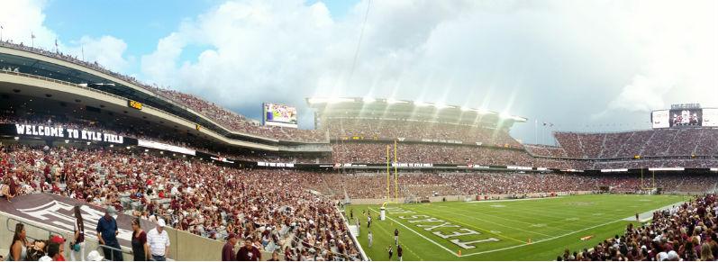 Photo: New Kyle Field Panorama | Ed Schaul, Flickr CC