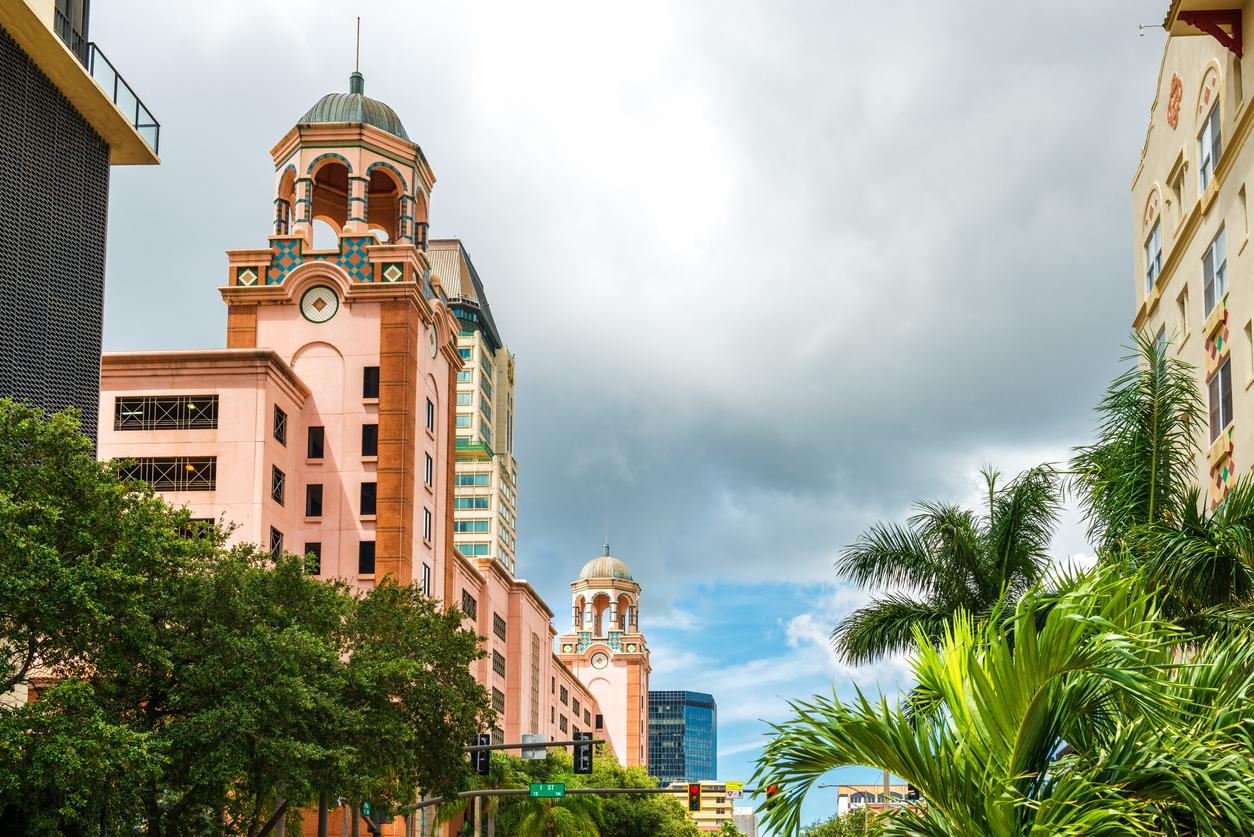 St. Petersburg in Florida