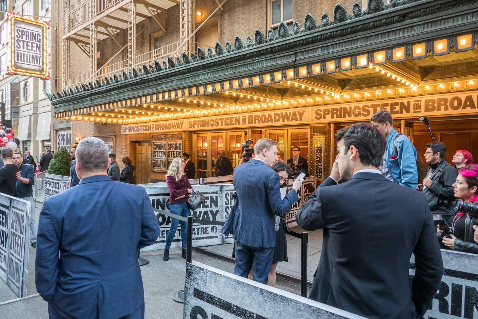 Springsteen on Broadway Walter Kerr Theatre