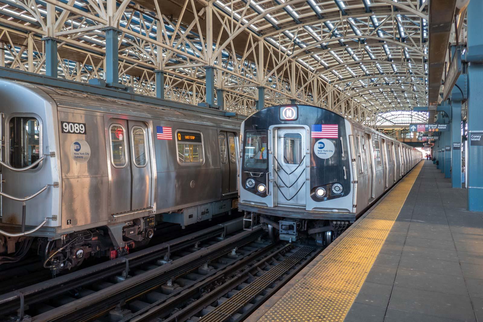 Coney Island station Brooklyn